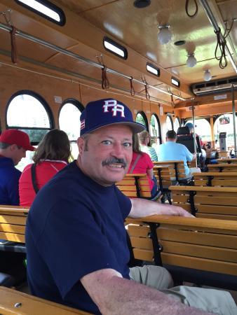 Clearwater Jolley Trolley: Trolley ride .