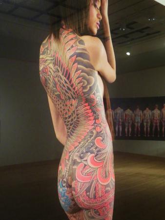 tattoo woman Japanese full body