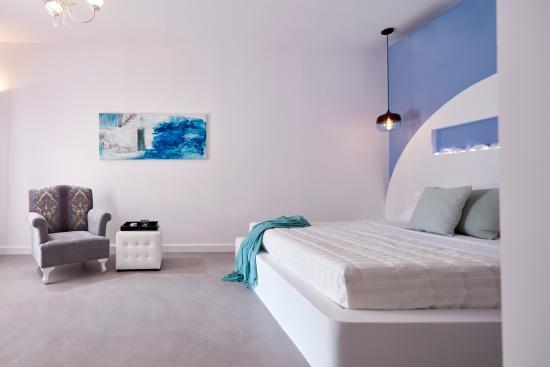 Orabel Suites Santorini: Bedroom