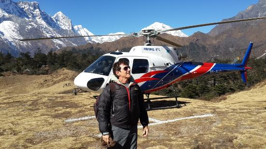Breakfree Adventures - Private Day Tours: Everest base camp helicopter tour
