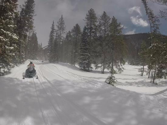 Monarch, CO: On the trail