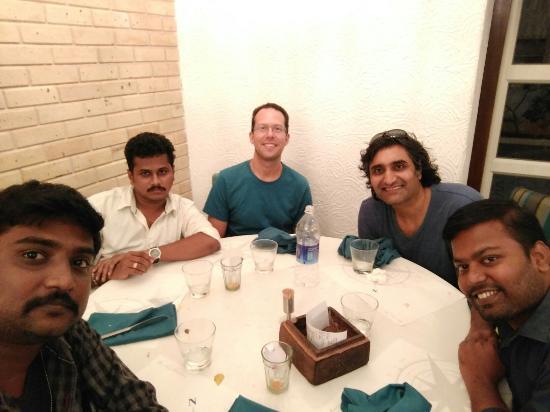 Dinner at Bombay Brasserie