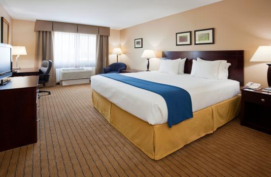 Devils Lake, Dakota del Nord: King Size Bed Room