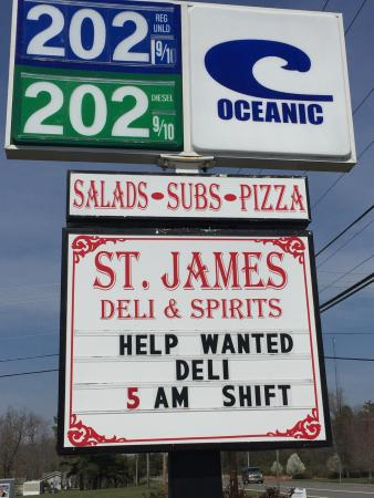 St James Deli and Spirits