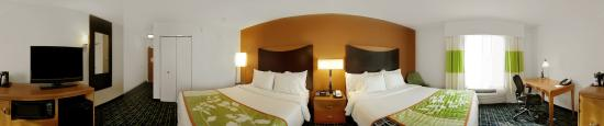 Fairfield Inn & Suites Milledgeville: Standard Room