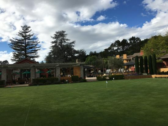 Bernardus Inn And Spa In The Carmel Valley Ca