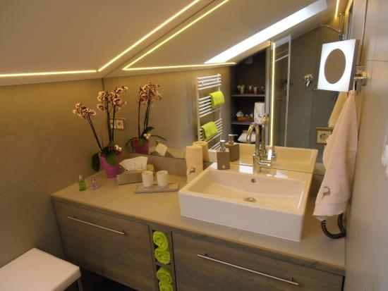 badezimmer mit fussbodenheizung - bild von gaestehaus huber, krün