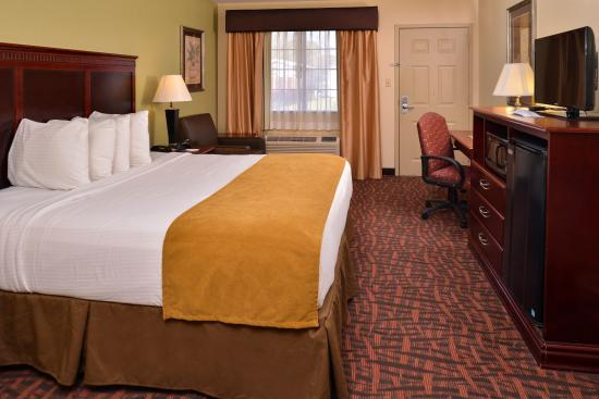 Best Western Eunice: King Bed Room