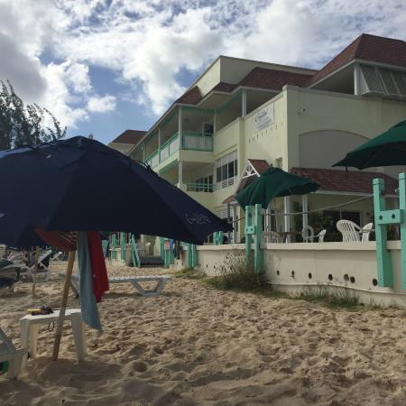 Worthing, Barbados: Beach area.