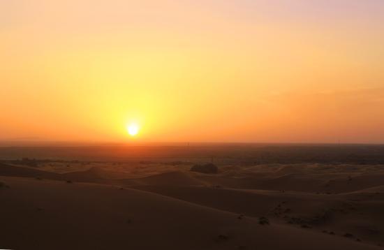 Desert Dream 4x4 Tours: sunset sahara