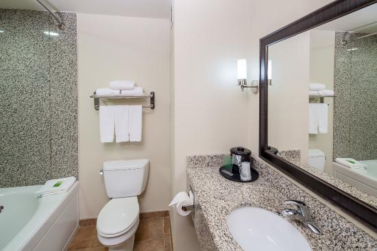 Holiday Inn Express Augusta North: Guest Bathroom