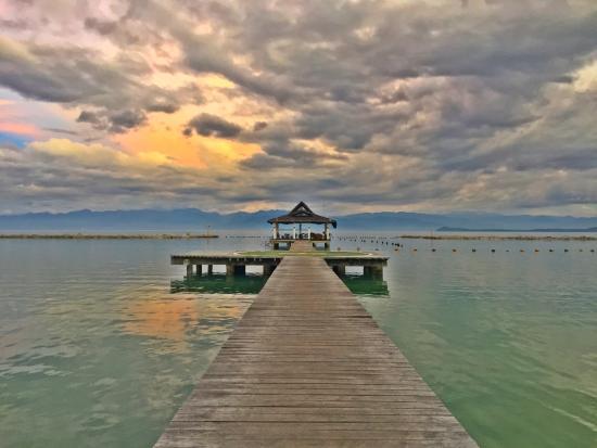 Sunset Picture Of Secdea Beach Resort Samal Island