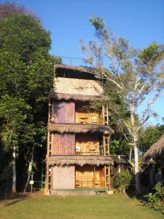 Cuyabeno Lodge: The observation tower