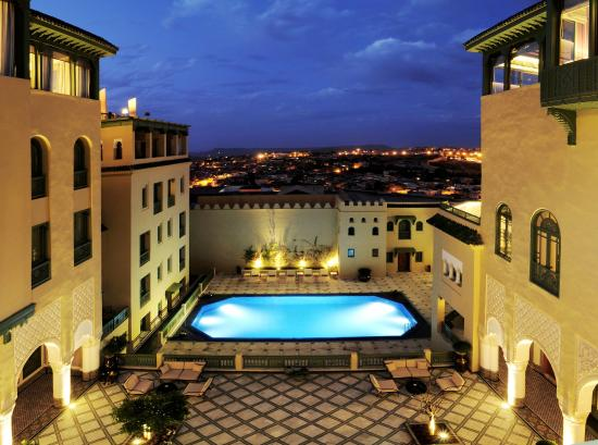 Palais Faraj Suites & Spa: Patio And Poolview