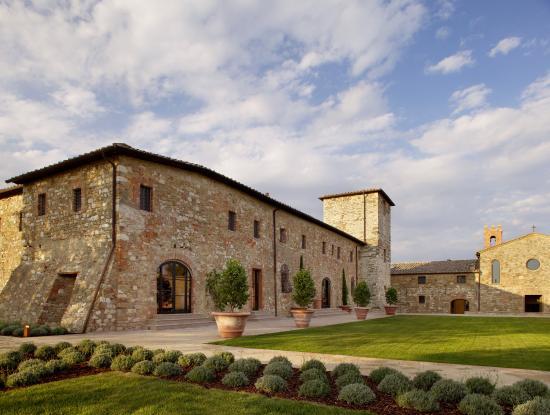 Castello di Casole Private Estate & Spa: Tosca Exterior