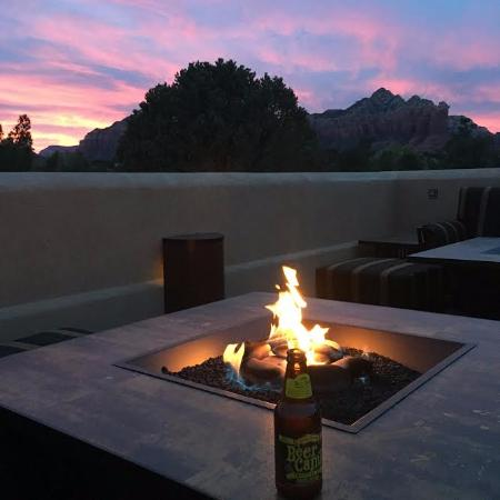 view from the fire pit picture of best western plus inn of sedona rh tripadvisor co za