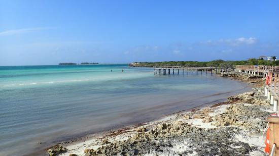 Iberostar Selection Playa Pilar: Boardwalk on beach looking east