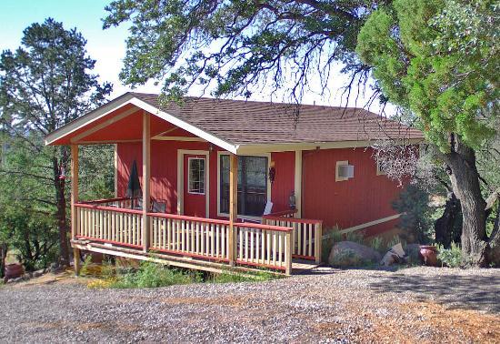 Pinos Altos Cabins: The Red Cabin