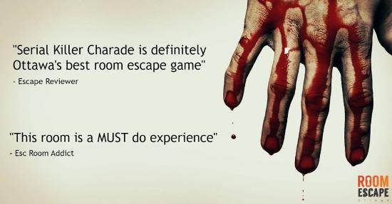 Top reviewed escape room in Ottawa!
