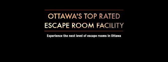 Ottawa's top rated escape room facility