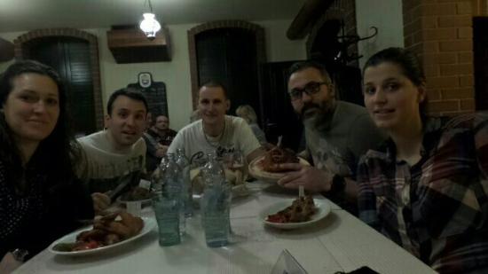 Prerov, República Checa: Cena con amigos