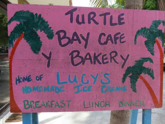 Lucy's Kitchen: Lucy's home made ice cream, Akumal, Mexique