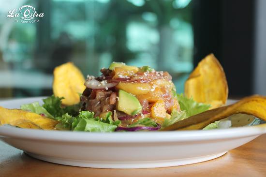 La Ostra Sea Food & Grill: Tartar de Atún