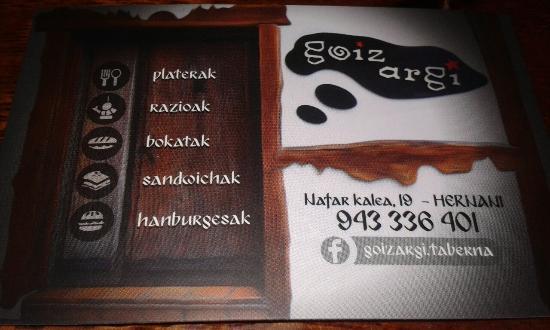 Bar Goiz Argi