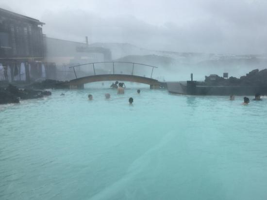 Grindavik, Island: This is either the Blue Lagoon on a cloudy day or Dante's 7th circle of Hell.