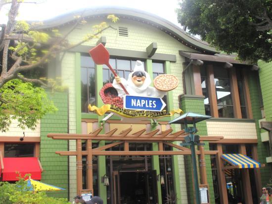 Naples Ristorante E Bar Restaurant Downtown Disney Anaheim Ca