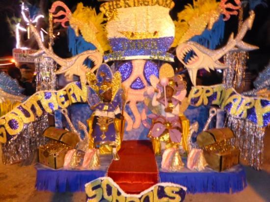 Fernandez Bay Village: The King and Queen of the Junior Junkanoo, 2016.