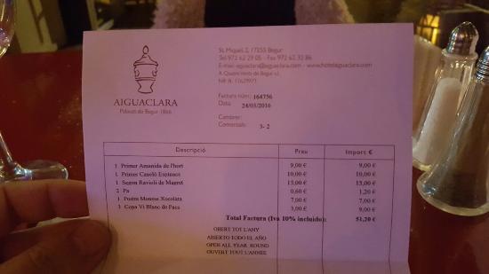 Restaurant Aiguaclara: Restaurante Aiguaclara