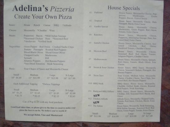 Dauphin, Canada: Adelina's