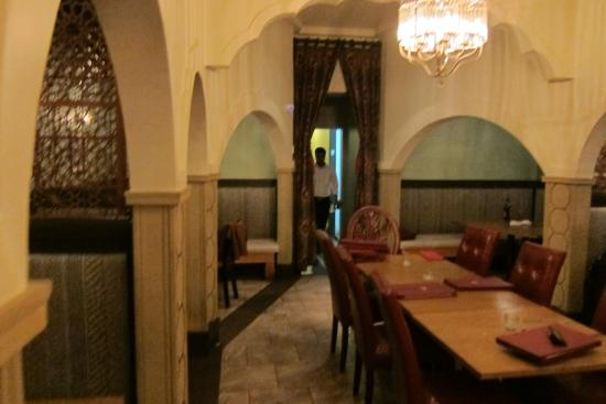 Dining Area Picture Of Anarkali Indian Restaurant Los