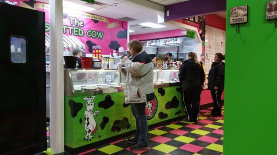 อาเดรียน, มิชิแกน: Counter Area at Spotted Cow Adrian South