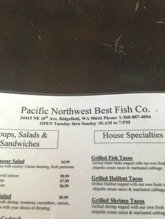 Halibut fish and chips and clam chowder picture of for Pacific fish company