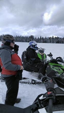 ‪Canyon Adventures Snowmobiling‬