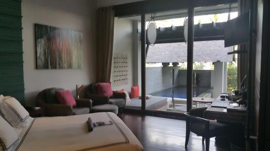 view of my pool suite room picture of the slate nai yang rh tripadvisor co za