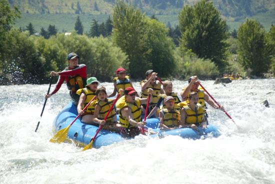 Gold Bar, Вашингтон: Wenatchee River Rafting