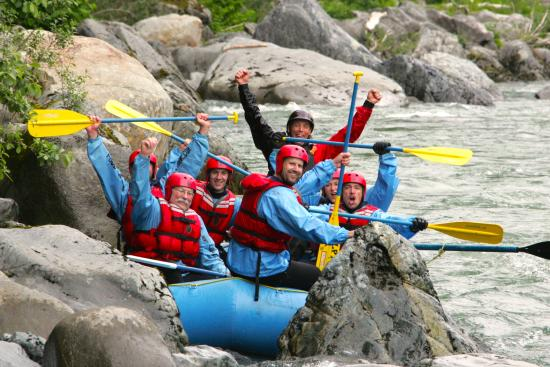 Gold Bar, WA: Happy Group Rafting