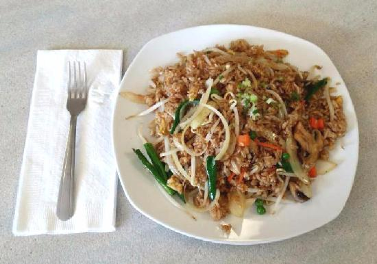 Spokane Valley, Waszyngton: Full order of Fried Rice