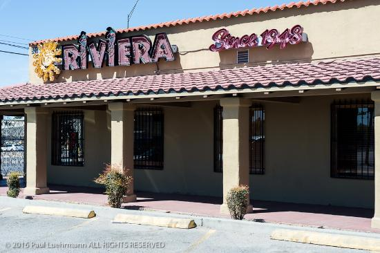 Riviera Restaurant El Paso Tx Menu