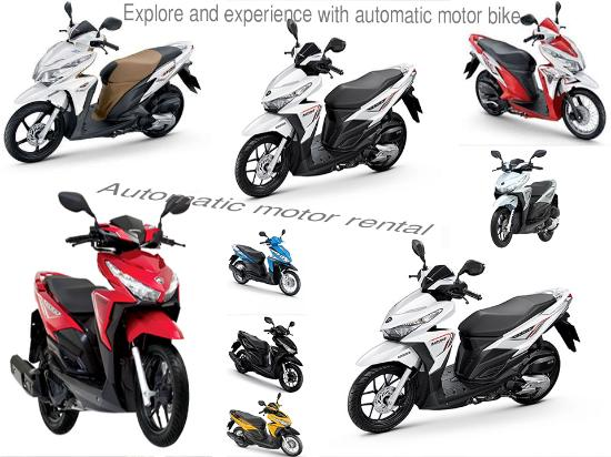 Automatic Motor Bike Rental