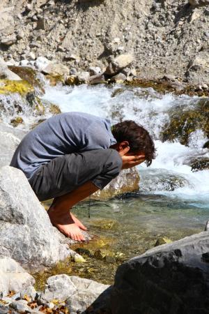 Arslanbob Waterfalls