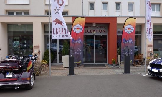 Hotel Ebertor: Haupteingang