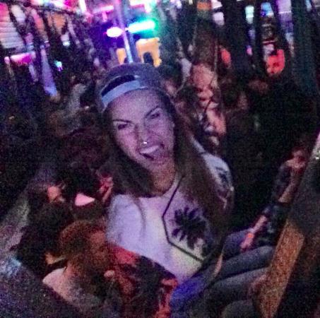 Miami Beach International Traveler's Hostel: The Party Bus the hostel organises