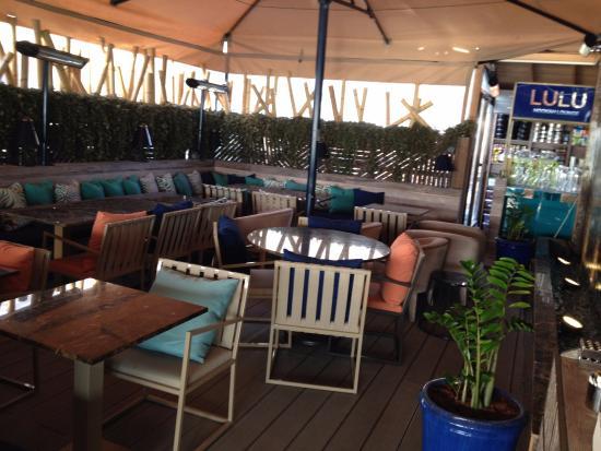 Anjer Hotel Bosphorus : المطعم الدور السابع وهذه الجلسه للمدخنين