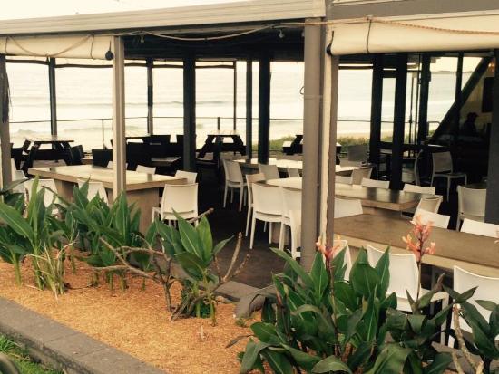 Bulli Beach Cafe: Our alfresco area offers views of Bulli ocean pool.