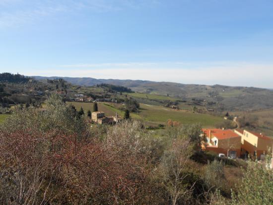 Casale Virgili: het uitzicht