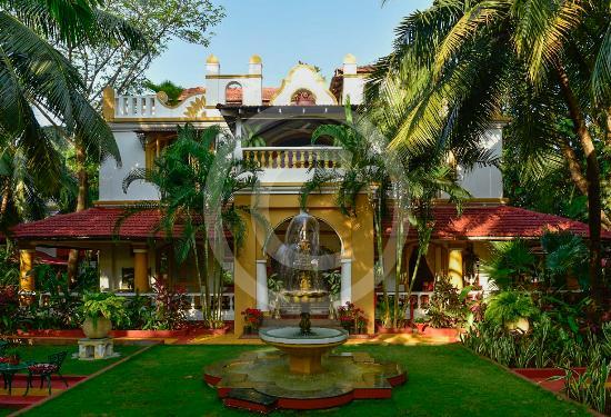 Anjuna, Indien: Main entrance